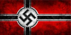 Nazi Germany adopts a new national flag with the swastika