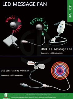 Hot Sale Supplier China Flashing Led Message Mini Handheld Fan