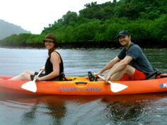 take a Kayak, and take along your photographer. Happy Honeymoons At Lalati Resort & Spa!
