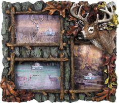 hunting frames deer 3 picture frame
