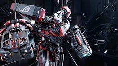 ROG Asus Robot Mecha