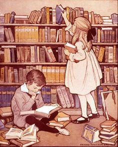 Jessie Wilcox Smith - I love her illustrations for and about children's books by cornelia