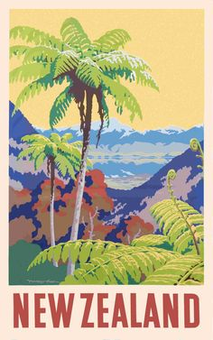 Selling the Dream is the first dedicated and extensive celebration of tourism posters and other publicity that helped promote New Zealand – both locally and to the world – until the 1960s. http://www.sellingthedream.co.nz/