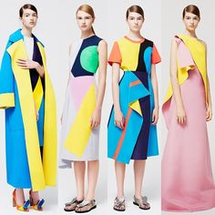 But seriously. Roksanda does the best color combos, check it out for yourself!