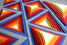 Principles of Design Poster Series / Paper Art by Efil Türk, via Behance Elements Of Design Shape, Elements Of Art, Interior Design Principles, Elements And Principles, 3d Design, Principals Of Design, Rhythm Art, Kunst Poster, Poster Design