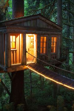 """r2–d2: """" Treehouse Point by (Alex Levine Photography) """""""