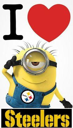 Pittsburgh Steelers Minion!~KA