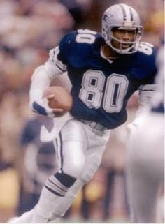 Tony Hill, 1977 - 1986, played 141 games, position Wide Receiver. Hill scored 51 touchdowns on 479 catches for 7,988 yards during his time with the Cowboys. He spent his entire career in Dallas, and was selected to the pro Bowl for the 1978, 1979 and 1985 seasons.