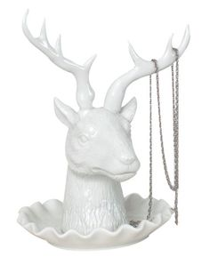 Keep this jewelry holder by your bedside for added stylish storage!