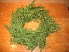 Adventní věnec z chvojí Advent, Herbs, Herb, Medicinal Plants
