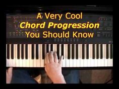 "Click here: http://www.PlayPiano.com Here is a very cool chord progression you can use in a wide variety of situations. It has a ""bluesy"" feel to it, so you ..."