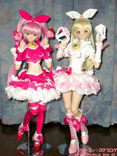 Moe and Natsuki - Pretty Cure cosplay | Flickr - Photo Sharing!