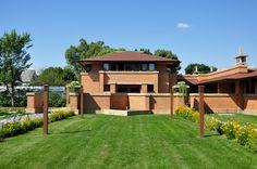 Darwin D. Martin House. Buffalo, New York. 1902-04. Frank Lloyd Wright. Prairie Style