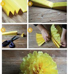 Zo maak je zelf een pompom van papier