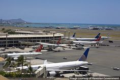 The state of Hawaii has commenced work on a four-year, 739m refurbishment and expansion project at Honolulu International Airport, as part of the state-wide Hawaii Airports Modernisation Program... http://www.airport-technology.com/news/newshawaii-starts-739m-honolulu-international-airport-modernisation-project
