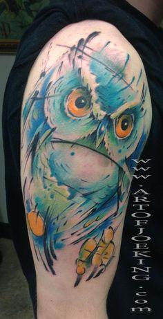 owl skyline tattoo - Buscar con Google