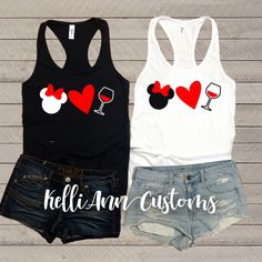 Excited to share this item from my shop: Disney Lover Wine Tank Top - Wine Lover - Disney Shirts - Epcot - Wine Tasting - Disneyland - Disney World - Food and Wine Festival - Wine - Disney Shirts, Disney Tanks, Run Disney, Disney Outfits, Disney Bound, Disneyland, Wine And Food Festival, Disney World Food, Festival Shirts
