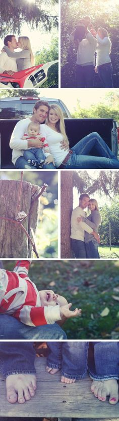 Family Engagement Session ©whit meza photography #motorcross #engagement #baby
