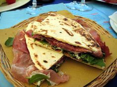 All You Can Eat: Milano: All You Can Eat Piadina