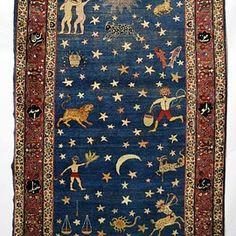 ペルシャ絨毯 Persian 'zodiac' rug