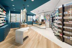 Farmacia Centrale by AMlab, Arcore – Italy Layout, Restaurants, Shelving Design, Medical Design, Retail Store Design, Commercial Design, Stores, Architecture Design, Furniture Design