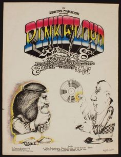 pink floyd concert posters | Lot Detail - Pink Floyd Concert Poster