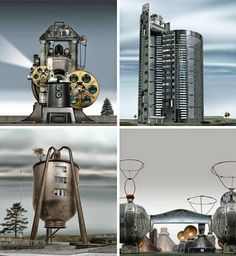 Steampunk Architecture Design