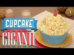 ¿Cómo preparar Cupcake Gigante? - Cocina Fresca - YouTube