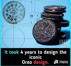 It took 4 years to design the Oreo design. Wierd Facts, Wow Facts, Intresting Facts, Wtf Fun Facts, Funny Facts, Funny Memes, Interesting Science Facts, Interesting Facts About World, Random Science Facts