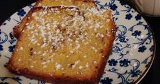 Sweet Recipes, Cake Recipes, Dessert Recipes, Banana Bread, French Toast, Bakery, Deserts, Food And Drink, Sweets