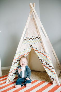 mini tee pee from Little Tee Pees since someone likes tents