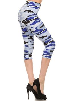 7c1096c7385e2 13 Best Capri Leggings images | Capri leggings, Print Leggings ...