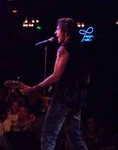 Watching Rick Springfield from backstage at Billy Bob's - yep took this one also....