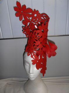 #hats Red felt