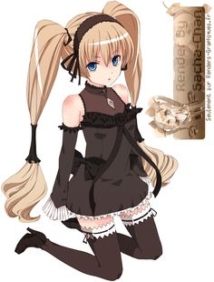 Kyaaa *O* I Love heeer *---* BUT The Anime is Shit x'D For me ~ :3