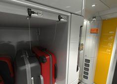 Ferrari Train Italo Luggage Area