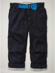 Gap Belted Cargo Pants.  Love the pop of color!