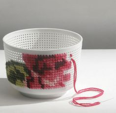 Embroider bowls