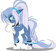 Icy wind data pony [AUCTION]paypal/points[CLOSED] by BlackFreya on DeviantArt