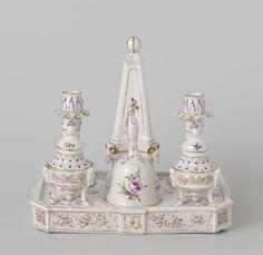 Ink stand, anoniem, c. 1777 - c. 1790