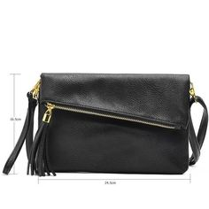 82d706a7a Accessorize with a Crossbody Leather Messenger Bag. Shape: Envelope Lining  Material: Synthetic Leather