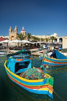 Marsaxlokk Harbor ~ Malta