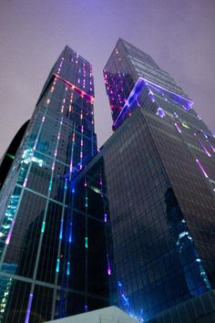 Capital City Tower, Moscow, Russia. The skyscraper was the tallest in Europe at 302 metres when it opened in 2010.