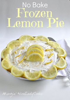 No Bake Frozen Lemon