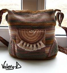 Handbag in the ethno style - Gombolyda.hu - Fonalbolt és Kézművesműhely