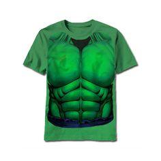 Hulk Costume Kids T-Shirt