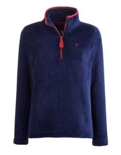 Evesham Half Zip Ladies Fleece (R) Joules Clothing, Joules Uk, Hooded Sweatshirts, Hoodies, Country Outfits, British Style, Zip Ups, Lounge Ideas, Funnel Neck
