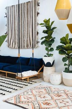 New rugs in the Pop & Scott Showroom, Northcote. Image by Bobby and Tide