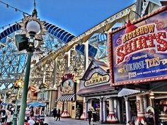 New facades on Paradise Pier #Disneyland