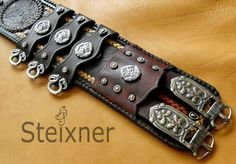 Leather Art, Leather Gifts, Cow Leather, Larp Armor, Viking Wedding, Equestrian Gifts, Belly Bands, Stitching Leather, The Witcher
